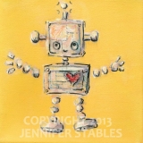 Jumping Yellow Love-Bot