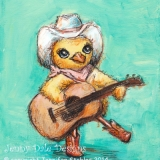 Chick with a Guitar