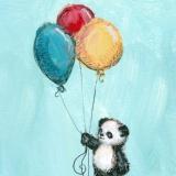 Panda's Balloons