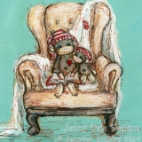 Sock Monkey's Cozy Chair