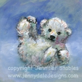 Snow Baby Polar Bear