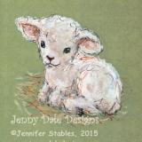 Little Lamb Seated 2
