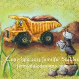 The Yellow Dump Truck