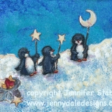 The Joy Makers- Penguin and Stars