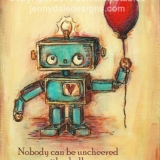 Robot's Red Balloon