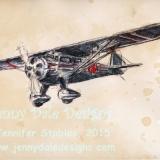 Vintage Airplane- 1