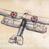 Vintage Airplane- 2