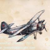 Vintage Airplane- 3