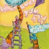 Wherever You Fly... Dr. Seuss Inspired Art