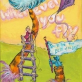 Wherever You Fly... Dr. Seuss Inspired Art