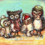 Owl Family Photo
